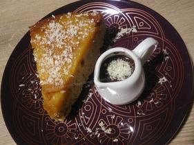 Gâteau ananas sans gluten pauvre en fodmap