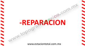 reparacion estacion total
