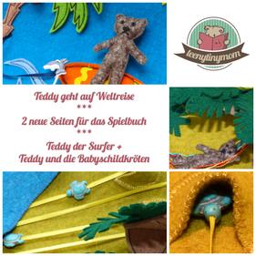 Spielbuch Anleitung Filz Teddy