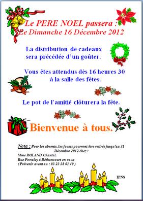 Affiche : Comité des Fêtes de Béthancourt-en-vaux