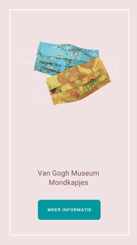 Hello Radio Shop Lifestyle Van Gogh mondkapjes