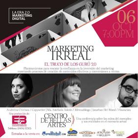 Escalera & Blyde Consultores - Conferencia Marketing Irreal