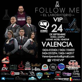 Conferencia - Follow Me El Laboratorio - Valencia