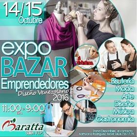 Expo Bazar Emprendedores - Diseño Venezolano