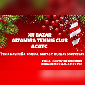 Bazar Altamira Tennis Club - XII Edición