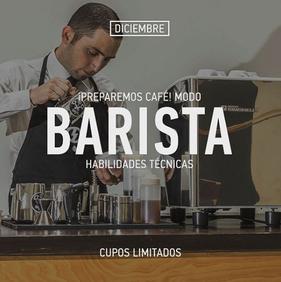 Curso Preparemos Café Modo Barista - SMAAK