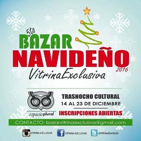 Vitrina Exclusiva - 5to Bazar Navideño 2016