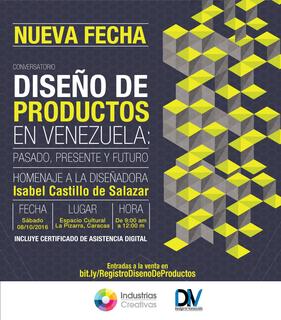 Conversatorio - Diseño de Productos en Venezuela