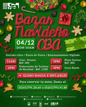 Bazar Navideño CBA 2016 - CBA Ateneo de Maracaibo
