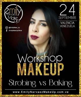 Emily Narvaez - Workshop Makeup - Strobing vs Baking