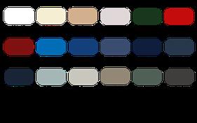 Verdeckstoff - Farbpalette