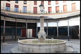 Fuente de la  Plaza Redonda de Valencia.