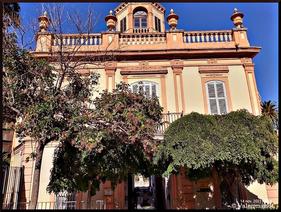 Palacete del Jardín de  Monforte en donde se celebran bodas civiles en Valencia, Comunidad Valenciana.