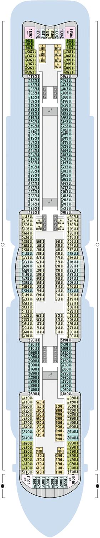 AIDAnova Deck 11 | © AIDA Cruises