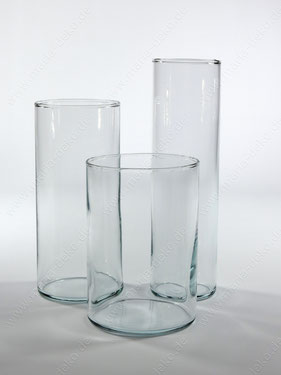 Zylindervasen mieten, Zylindervasen set