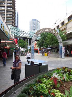 Die Innenstadt von Brisbane gefällt uns sehr.