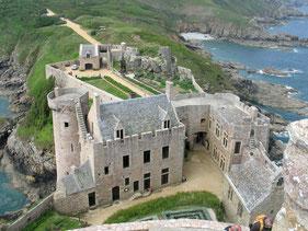 Das Fort an der Bretonischen Küste
