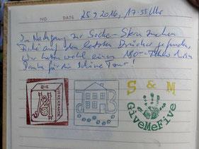 Logbucheintrag Viererbande, Britta&Jürgen und GiveMeFive
