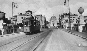 Il Ponte di Corso Sempione in uno scatto d'epoca