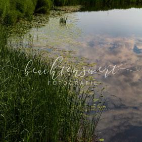 beachtenswert fotografie, Fotokunst, Treene, Wasserspiegelung, Himmelspiegelung, Flusslandschaft, Nordfriesland
