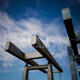 beachtenswert fotografie, Fotokunst, Klappenbrücke, Husum, Brücke
