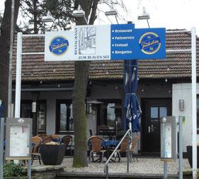 """Restaurant """"Zum blauen See""""   -  Klicke auf das Bild und erfahre mehr"""