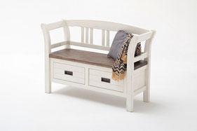 Bild: Garderobenbank für mehr Komfort