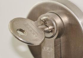 Bild: Euroschlüssel, Euro-WC-Schlüssel, Euro-Schlüssel