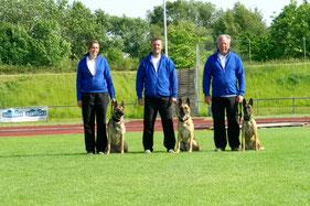 von links: Melanie Karg, Michael Kopetsch, Klaus Papenfuß