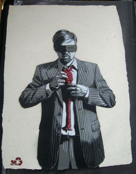 Street Art Bild von DECYCLE aus Düsseldorf.