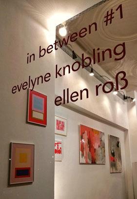 mehrkunst e.V. : inbetween #1 mit Evelyne Knobling und Ellen Roß