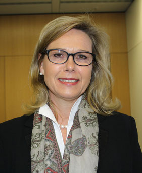 Fraport Executive Board Member Handling Anke Giesen is keen on pushing FRA's cargo biz forward  /  source: hs