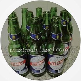 SeyBrew Bier Beer Cerveza Seychelles Seychellen Alkohol