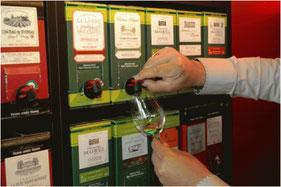 Vin conditionnné en cartons