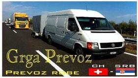 prevoz robe svajcarska