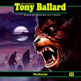 CD Cover Tony Ballard - Verflucht