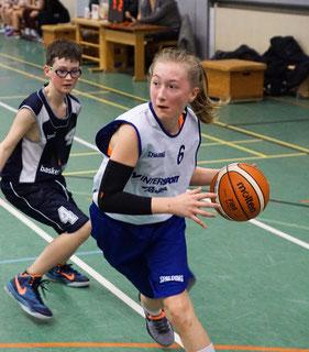 Leonie von der Decken war stets einen Schritt schneller als ihre Gegenspieler. (Foto: Moradi)