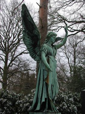 Engel Ohlsdorfer Friedhof Bild: Susann Wuschko