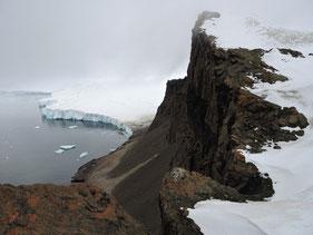 El deshielo en la costa antártica. / Jasmine Lee