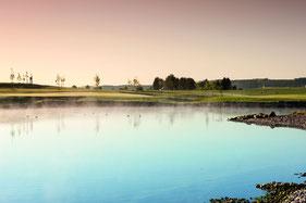 Verwechslungsgefahr! Das Doppelgrün der Spielbahnen 2 und 12 - © Spa & Golf Resort Weimarer Land