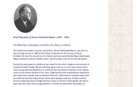 Brief Biography of Murdo MacDonald-Bayne  (1887 - 1955) [Part of Lora Mendel's former webpage]