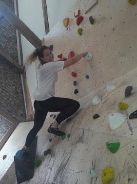 Trainerin Natalie gibt ihr Bestes