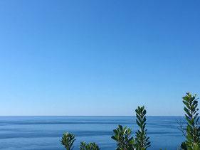 Entspannung durch den Blick aufs Meer