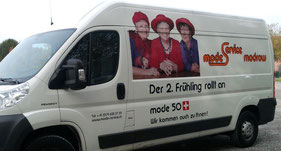 Mobiler Lieferservice