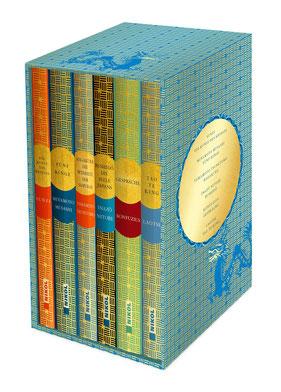 Fernöstliche Klassiker 6 Bände im Schuber: Die Kunst des Krieges, Fünf Ringe, Hagakure, Bushido, Gespräche und Laotse Tao Te King Bestseller