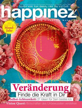Happinez Magazin Veränderung - Das Mindstyle-Magazin