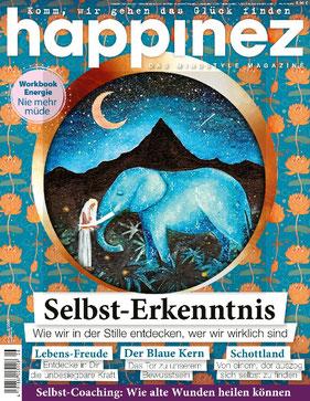 Happinez Magazin Nr.8 2020 Selbst-Erkenntnis - Die besten Magazine und Zeitschriften Deutschlands