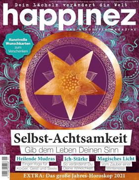 Happinez Magazin 2021 Nr.1 Selbst-Achtsamkeit