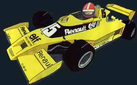 Jean Pierre Jabouille by Muneta & Cerracín