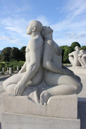 Vigeland Skulpturenpark, Oslo, Norwegen